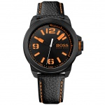 Boss Orange New York Uhr Herrenuhr schwarz
