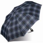 Esprit Gents Mini Tecmatic 50355 Regenschirm Taschenschirm Blau