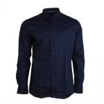 Eterna Herrenhemd Langarm 8585/19/F182 Hemd Slim Fit Blau M/39