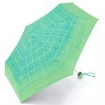 Esprit 50782 Petito Checks in Motion green colorway Taschenschirm