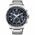 Citizen AT8124-91L Funkuhren Uhr Herrenuhr Edelstahl Datum silber
