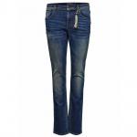 Only Damen Jeans Hose GEMMA Low Girlfriend DNM Blau Gr. 27W / 32L