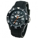 Ice-Watch SI.BK.B.S.09 Herrenuhr schwarz Big Silikonband Datum