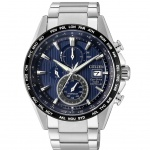Citizen AT8154-82L Radio Controlled Eco-Drive Chrono Titan Uhr Datum