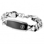 POLICE PJ25534BSS-01-L Herren Armband UNIVERSAL II Stahl 22 cm