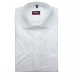 Eterna Herrenhemd Kurzarm 1100/00/C187 Modern Fit Weiß Gr. M/40