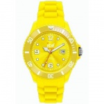 Ice-Watch Uhr SI.YW.B.S.09 Sili Yellow Big gelb Silikon 50m Datum