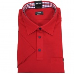 Eterna Polo Shirt Kurzarmhemd 2203/55/U577 Comfort Fit Rot Gr. XL/44