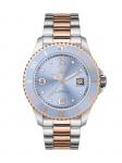 Ice-Watch 016770 ICE steel Medium Uhr Damenuhr Datum Bicolor
