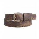 Pieces Damengürtel 17067306 ROSEMUNDE Jeans Belt Braun 80 cm