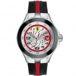 Scuderia Ferrari 0830021 Race Day Uhr Herrenuhr Silikon schwarz