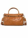 Desigual Damen Handtasche Tasche Dark Amber Loverty Braun