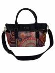 Desigual Damen Handtasche Tasche Slavia Loverty Mehrfarbig
