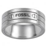 Fossil JF84504 Herren Ring JF 84504 Stahl Größe 56 (18, 0 mm)