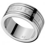 Tommy Hilfiger 2700118B Herren Ring Stahl Größe 62 (19, 7 )