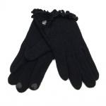 Esprit 116EA1R006-E001 Felted Gloves Schwarz Finger Handschuhe S