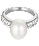 Esprit ESRG92300A Damen Ring pearl sphere Silber 925 weiß 50 (15.9)