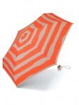 Esprit Petito beach stripes coral Regenschirm Taschenschirm