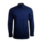 Eterna Herren Hemd Langarm Comfort Fit Blau L/42 Hemden 1101/19/E187