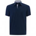 Eterna Herren Shirt Polohemd 2203/18/U577 Comfort Fit Blau Gr. XL/44