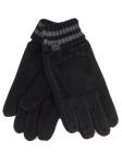 Esprit Suede Knit Glove Schwarz Handschuhe Fingerhandschuhe Gr. 9, 5