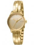 Esprit ES1L054M0065 Essential Glam Uhr Damenuhr Edelstahl Gold