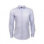 Eterna Herrenhemd Kurzarm Comfort Fit Blau L/41 Hemden 4290/11/K187