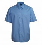 Eterna Herrenhemd Kurzarm 1100/14/K198 Comfort Fit Hellblau XXXL/47