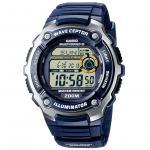 CASIO WV-200E-2AVEF WAVE CEPTOR Funkuhr Uhr blau