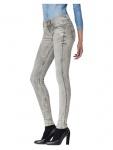 G-Star Damen Jeans 608856750-5214 Lynn Midwaist Skinny Grau 32W / 34L