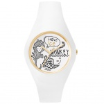 Ice-Watch ICE chinese White Doodle Unisex Uhr Damenuhr Silikon weiß