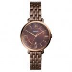 Fossil ES4275 JAQUELINE Uhr Damenuhr Edelstahl Datum Braun