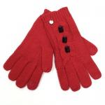 Esprit 113EA1R034-E610 Bead Knit Rot Handschuhe