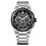 Hugo Boss 1513359 Chronograph Uhr Herrenuhr Edelstahl Datum Silber