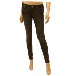 Authentic Style Damen Jeans D8638W60764-12300 Sublevel Skinny Grün M