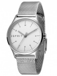 Esprit ES1L034M0055 Essential Silver Mesh -L Damenuhr Edelstahl Silber