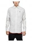 G-Star Herrenhemd Langarm 83952E6816-110 Valdo Core Shirt Weiß Gr. L