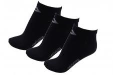 Converse Herren Socken Low Cut 3er Pack Füßlinge Größe 39-42 Schwarz