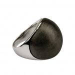 Quoins Damen Ring By Q Exclusive dunkelgrau 58 (18.5)