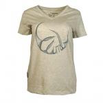 Mammut Damen T-Shirt Kurzarm Zephira T-Shirt Women Grau Gr. S