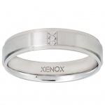XENOX X2265-52 Damen Ring XENOX & friends Silber Weiß 52 (16.6)