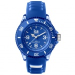 Ice-Watch ICE aqua Marine Small Uhr Damenuhr Silikon blau