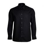 Eterna Herrenhemd 1100/39/E198 Comfort Fit Schwarz Gr. M/40