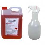 5 Liter Konzentrat Wawaki rot + 1 Liter Sprühflasche (7, 99/Liter)