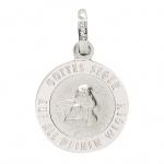 Basic Silber 22.237 Kinder Anhänger Schutzengel Silber