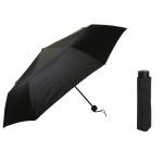 Flash Super Mini Flash solid Schwarz Regenschirm Taschenschirm