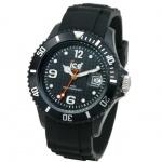 Ice-Watch SI.BK.B.S.09 Herrenuhr schwarz Big Silikonband Datum