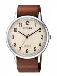Citizen BJ6501-28A Uhr Herrenuhr Lederarmband Braun