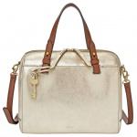 Fossil RACHEL Satchel Gold ZB7423-751 Leder Handtasche Tasche