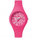 Ice-Watch ICE love Pink Doodle Small Uhr Damenuhr Silikon pink